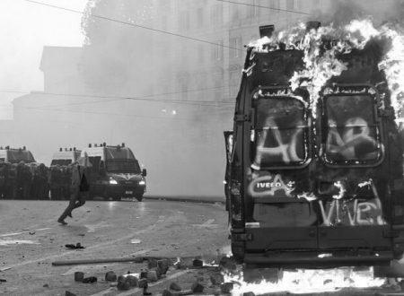 Roma – Danneggiati parchimetri in solidarietà agli imputati del 15 Ottobre