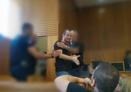 Atene [Grecia]: Anarco-comunista Tasos Theophilou libero (07/07/2017)