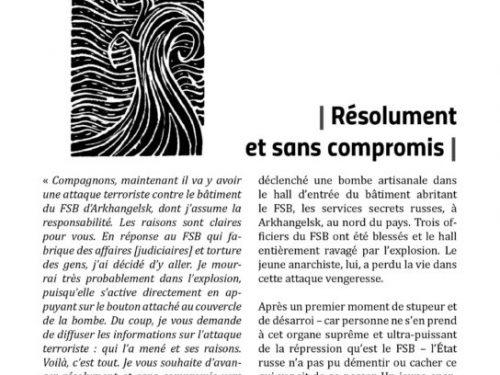 E' uscito Avis de Tempêtes Numero 11 – Bollettino anarchico per la guerra sociale (Novembre 2018)