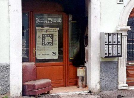 Rovereto – Sull'incendio della sede anarchica