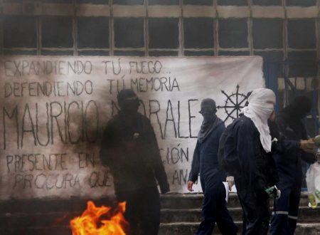 Santiago (Cile) – Rivendicati scontri nella giornata in ricordo di Mauricio Morales