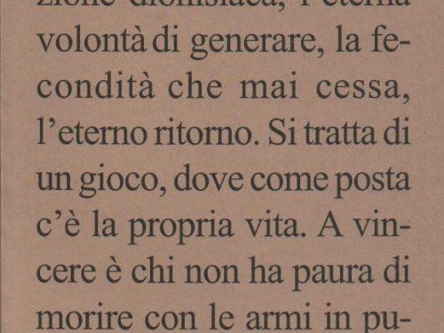 Renzo Novatore – Verso Il Nulla Creatore