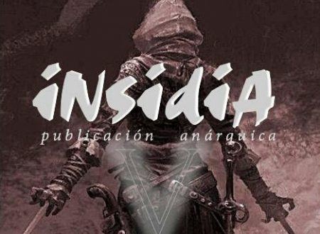 "Buenos Aires [Argentina]: ""Insidia"" n°5, pubblicazione anarchica"