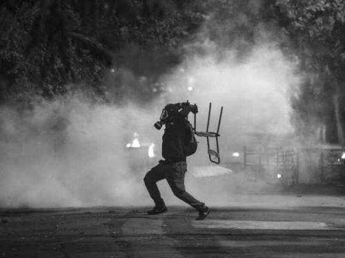 Grecia: Azione a Salonicco in solidarietà con i compagni torinesi