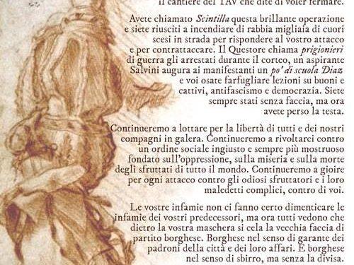 Torino – Blocchiamo la città: Corteo contro sgomberi e repressione