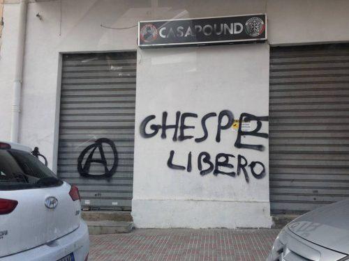 L'Anarchico Salvatore Vespertino In Sciopero Della Fame