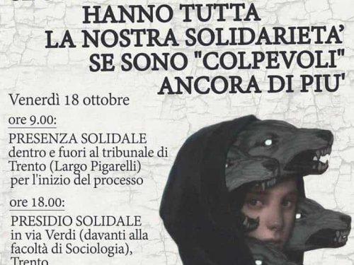 Trento – Date del processo per operazione Renata