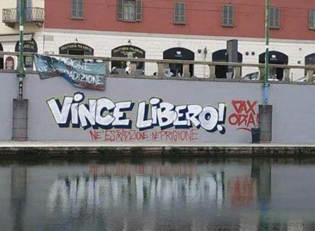 Rennes, Francia: Vincenzo è stato scarcerato (15/11/2019)