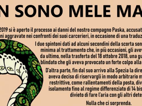 Manifesto in solidarietà a Paska
