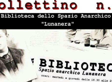 Cosenza – Bollettino n. 3 biblioteca Spazio Anarchico Lunanera