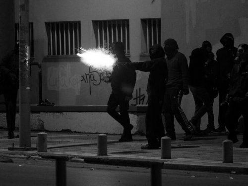 Sbarramento di fuoco in solidarietà con lo sciopero della fame di Koufodinas