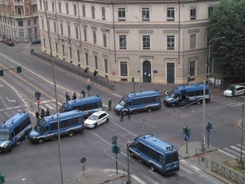 Torino – 4 compagni fermati