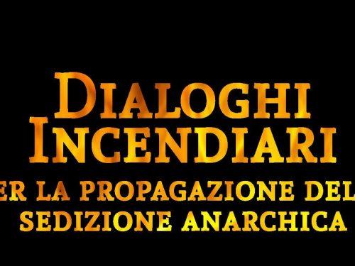 """""""Dialoghi incendiari"""", nuovo libro delle Edizioni Internazionale Nera"""
