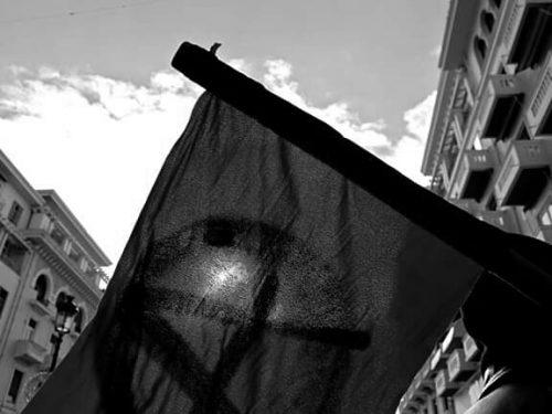 Intervento al presidio in solidarietà ai/alle prigionieri/e anarchici/e detenuti in seguito all'Operazione Scripta Manent tenutosi a Genova il 26 Settembre 2020