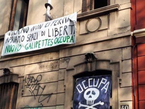 Milano – Sgombero del Galipettes Occupato