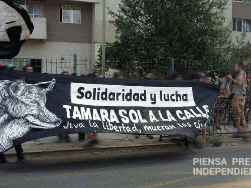 Cile: Tamara Sol è libera!