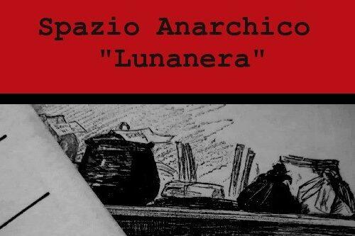 """È disponibile il n. 5 del """"Bollettino"""" della Biblioteca dello spazio anarchico """"Lunanera"""" di Cosenza"""