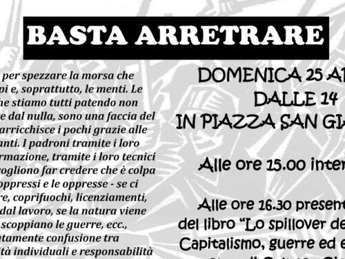Basta Arretrare – Iniziativa il 25 aprile a Trieste