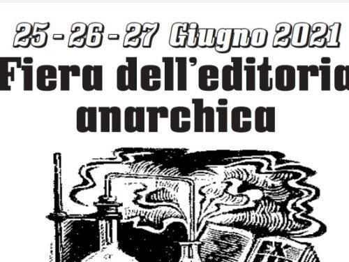 Carrara – Fiera dell'editoria anarchica 25-27 Giugno
