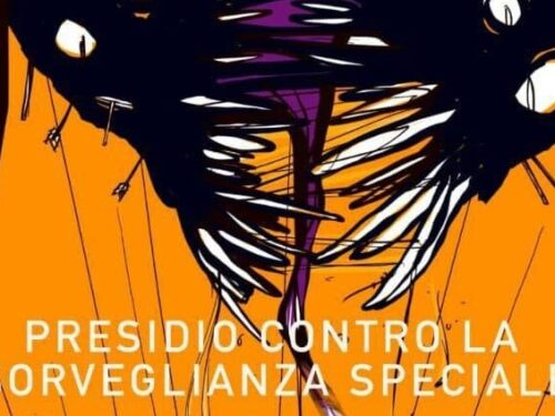 Genova: Presidio viandante contro la Sorveglianza Speciale