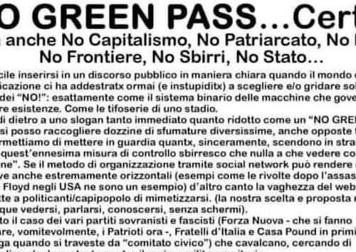 No GREEN PASS… non solo!