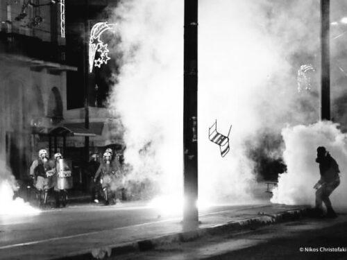 Salonicco – Il compagno Dimitris Chatzivasileiadis è stato arrestato