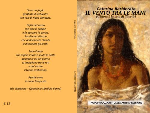 """E' in uscita """"Il vento tra le mani"""" di Caterina Barbierato"""